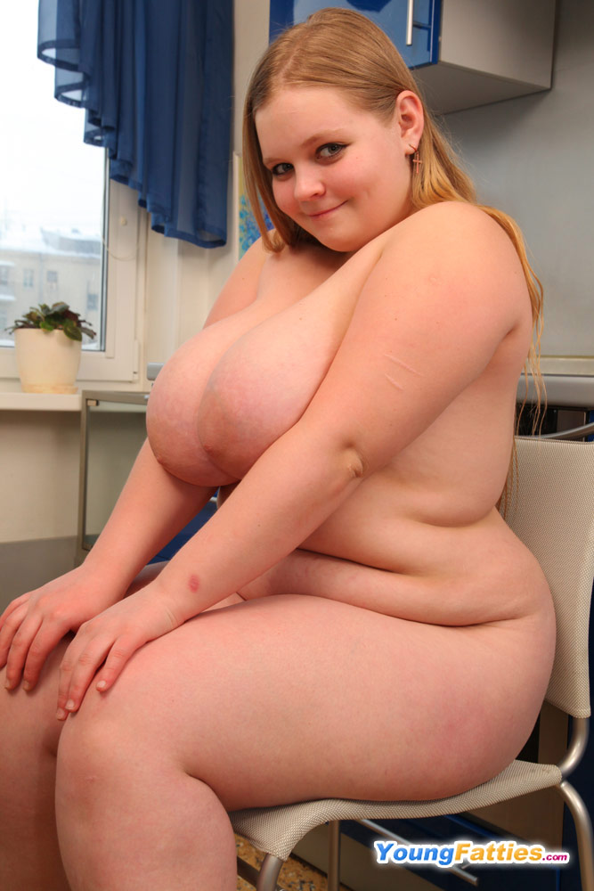 Plus Size Girl With Heavy Tits