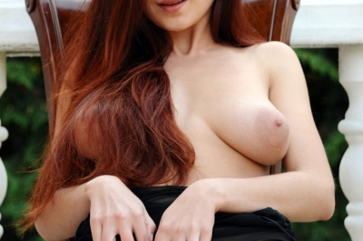 Ledona's perfect big tits and nipples