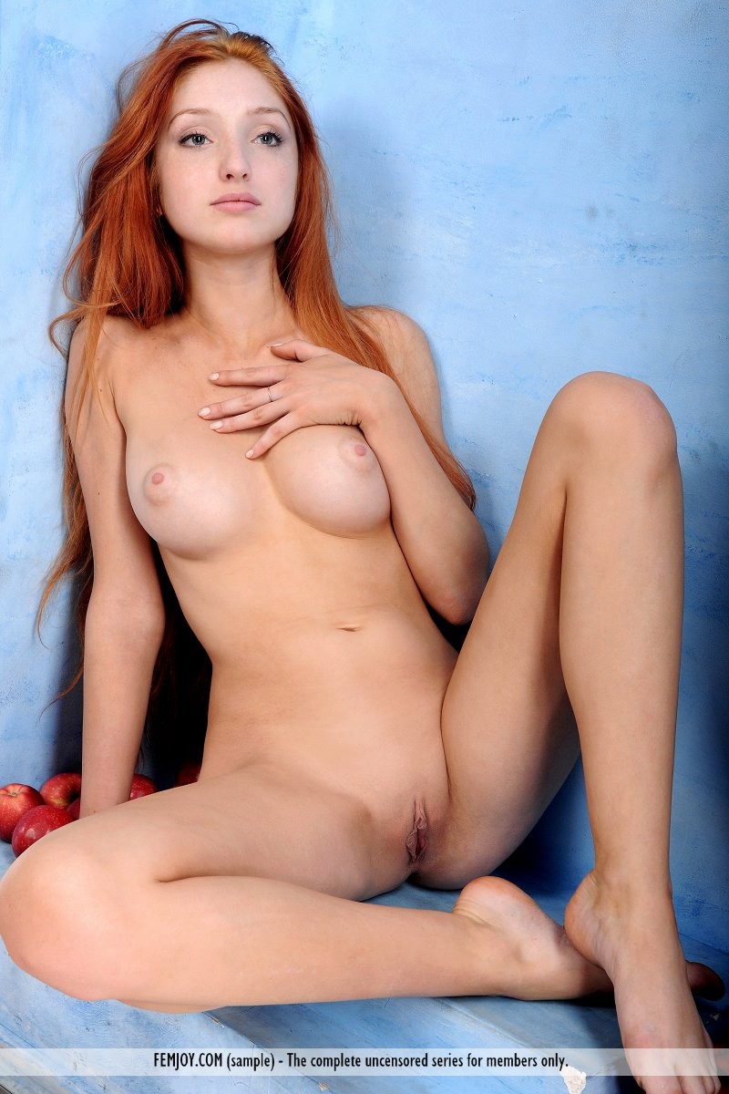 Naked redhead boobs
