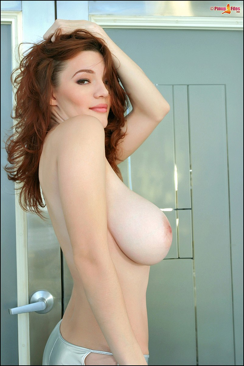 Big Natural Boobs White