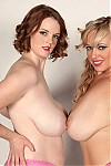 Busty babes Bebe Cooper and Kaytee Carter