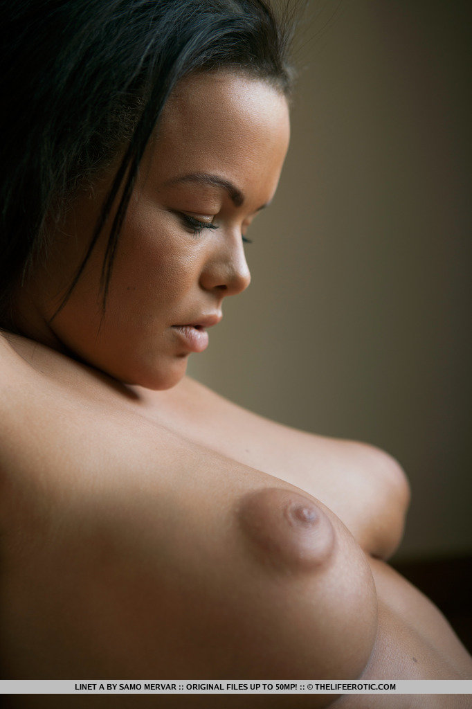 black chick puffy nipples