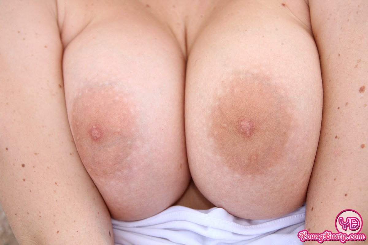 Years Old Nicole S Big Natural Dd Tits Look So Good In That Tight